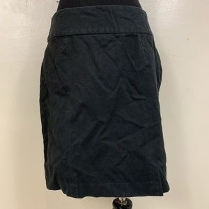 BANANA REPUBLIC BLACK PENCIL SKIRT SIZE 6